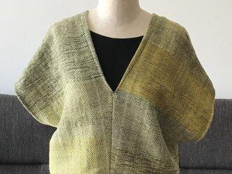 さをり織 コットン サマーセーター の画像