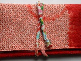 5740 絞りの羽織で作った和風財布・ポーチ #送料無料の画像
