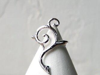 シルバー イヤーカフ * Geometric Ear Cuff 1の画像
