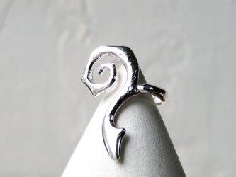 シルバー イヤーカフ * Geometric Ear Cuff 2の画像