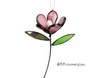 ステンドグラス 小花210717Pの画像