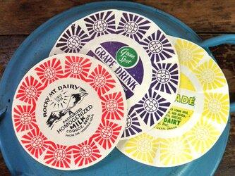 アメリカ Vintage ミルクラッパー3色セット【U.S.A.】 DA-CO035の画像