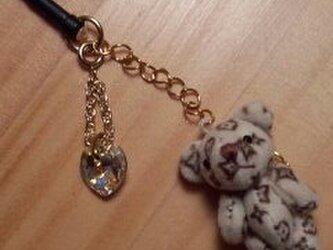 子クマとスワロフスキーのスマピの画像