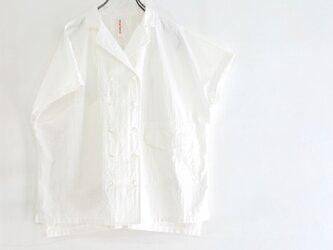 tailored french shirt (wg/organic cotton)の画像