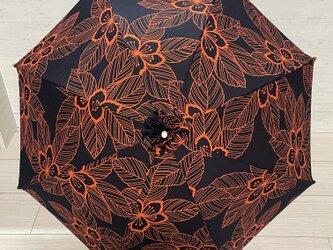浴衣から作った日傘 旱星の画像