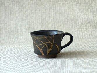 マグカップ(金銀彩すすきa)の画像