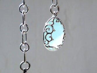 カルセドニー チェーン ブレスレット * Chalcedony Braceletの画像