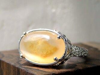 水入り瑪瑙 リング * Enhydro Agate Ringの画像