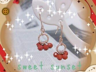 ≪2点セット≫X'mas☆Red berry アクセの画像