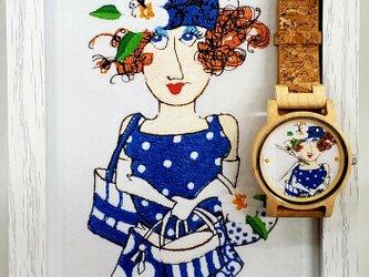 【江戸の粋】木製の腕時計(自然のぬくもりを日常に)の画像