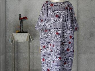着物リメイク 浴衣ワンピース/フリーサイズの画像