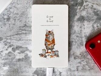 「トラになりたいネコ」Original ワイヤレス充電器の画像