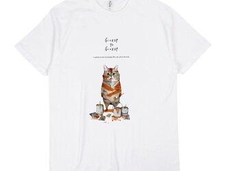 「トラになりたいネコ」 Tシャツ/送料込みの画像