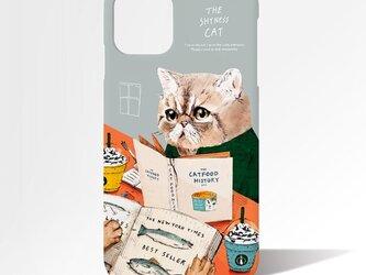 Originalスマホケース「ネコ見知りのネコ」の画像