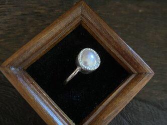 淡水パールのリング  XIVの画像