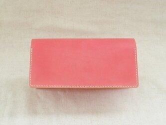 長財布《 Rose Pink 》の画像