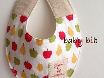 ベビースタイ*りんごの画像