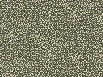 風呂敷 ふろしき 友禅唐草 綿100% 105cm×105cm(色:利休)の画像