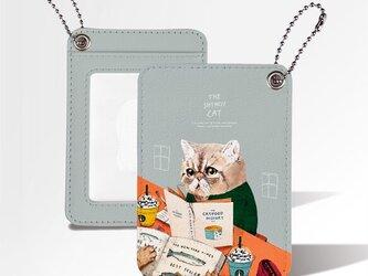 Originalカードケース「ネコ見知りのネコ」の画像