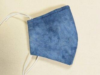 藍染マスクの画像