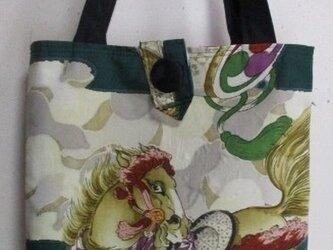 5768 お宮参り着で作った手提げ袋 #送料無料の画像
