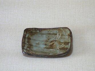 長方皿(とんぼb)の画像