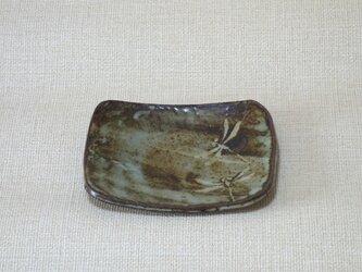 長方皿(とんぼc)の画像