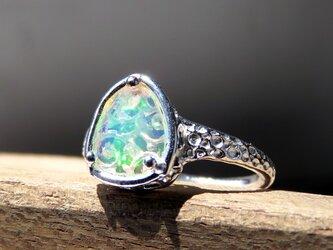 オパールリング * Rose Cut Opal Ringの画像
