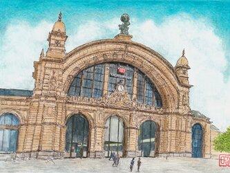 フランクフルト中央駅の画像