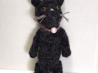 黒ネコさん(あみぐるみ)の画像