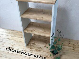 rack H78 W38 A4サイズ収納可/ラック/収納/スリム/隙間収納/キッチンラック/おもちゃ収納の画像