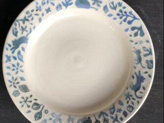 "kakiotoshi rim plate - ""猫のパトロール""の画像"