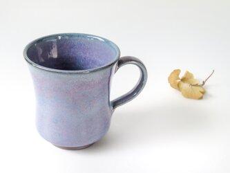 :無名異焼のマグカップ:鈞窯の画像