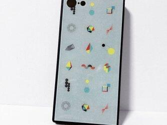 iphone【ジオメトリ】強化ガラススマホケースの画像