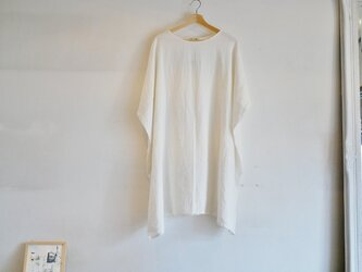 SQUARE ONEPIECE LINEN100%の画像