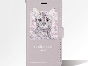 Original手帳型iPhoneケース「Cat」の画像