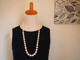 cotton pearl オペラ necklaceの画像