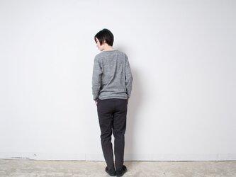 TUTU ロングスリーブTシャツ チャコール杢(カラー:チャコール杢、サイズ:サイズ2)の画像