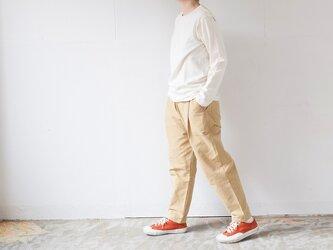 TUTU ロングスリーブTシャツ キナリ(カラー:キナリ、サイズ:サイズ1)の画像