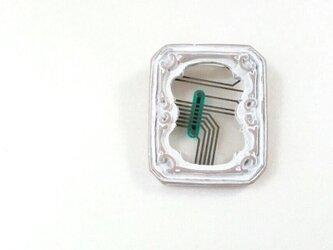 配線的現代アートブローチ#2の画像
