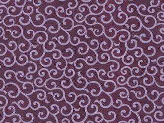 風呂敷 ふろしき お弁当包み 友禅唐草 綿100% 50cm×50cm(色:紫)の画像