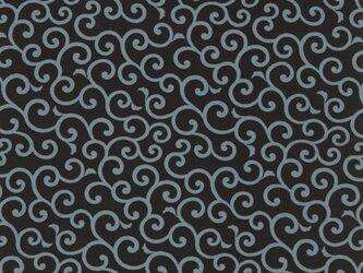 風呂敷 ふろしき お弁当包み 友禅唐草 綿100% 50cm×50cm(色:黒)の画像