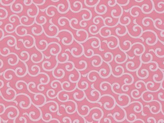 風呂敷 ふろしき お弁当包み 友禅唐草 綿100% 50cm×50cm(色:ピンク)の画像