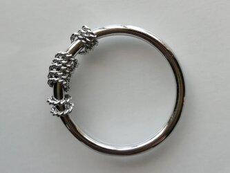 circle ringシルバーバージョンの画像