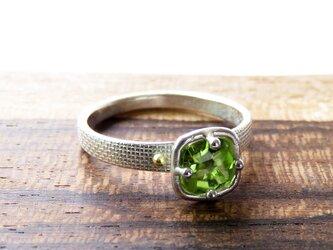 ペリドット・リング * Peridot Ring □の画像