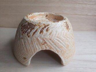 陶器シェルター 爬虫類、両生類、魚、小動物のお家の画像