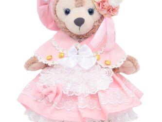 シェリーメイ 服 コスチューム ケープ付桜色ドレス 本体無 Sサイズ用 送料無料の画像