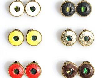 【shell ◯ earring】の画像