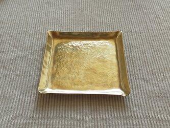 真鍮皿 (一点物)の画像