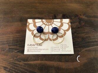 tayu*tau | 2wayピアス るり Cの画像